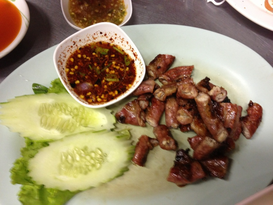 Grilled Pork Intestines