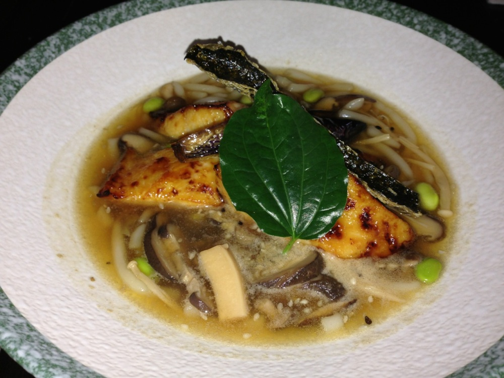 Miso Baked Black Cod with LaoShuFen