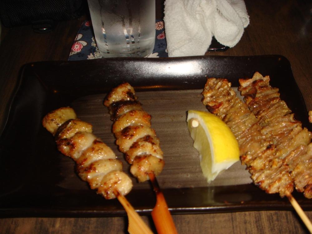 Chicken Skin (R) and Chicken Bonito (L)