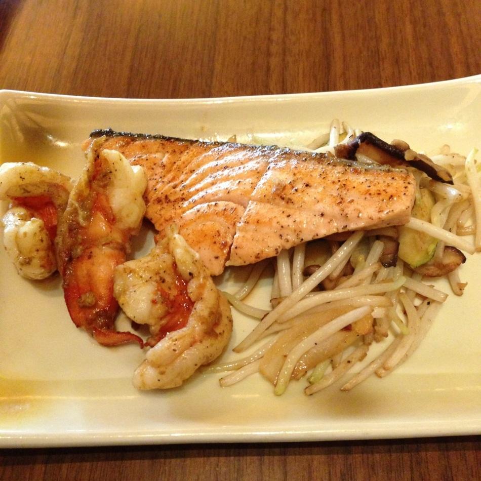 Seafood teppan