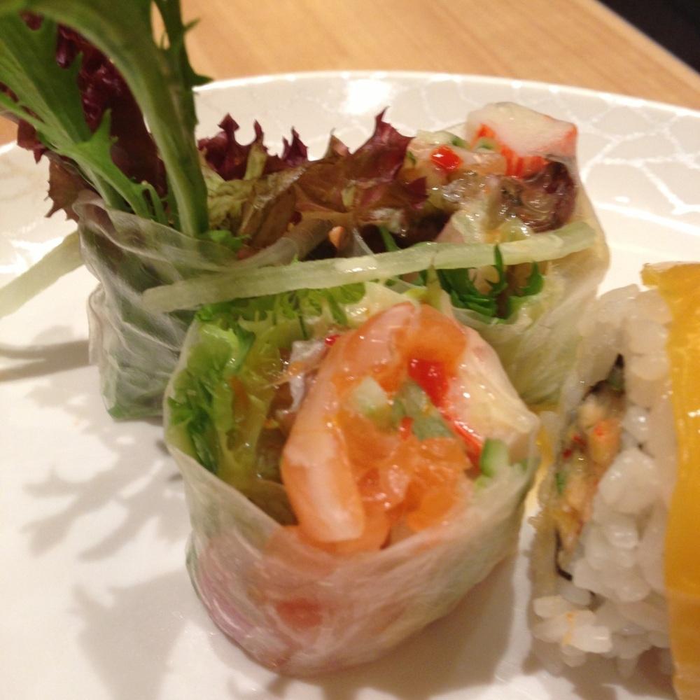 Seafood wrap
