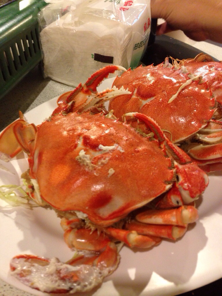Mud crab from the region