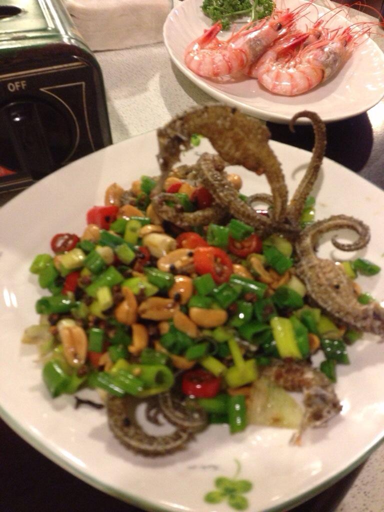 Deep Fried Seahorse 椒鹽海馬