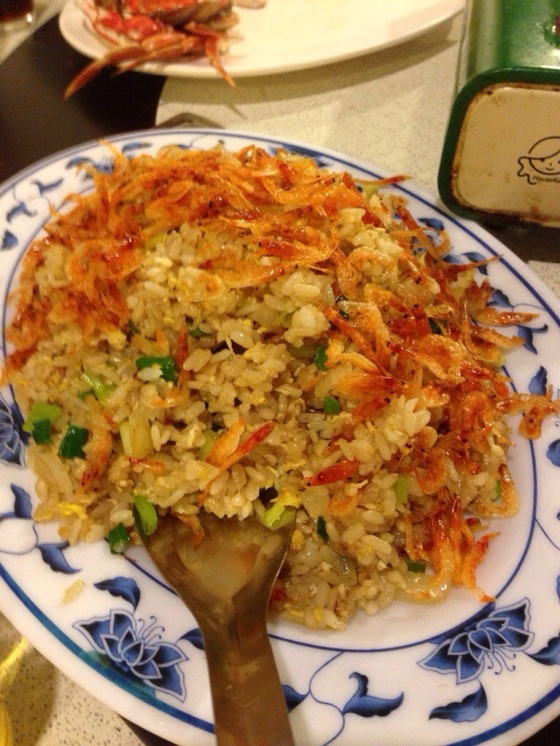 Sakura Shrimp Uni Fried Rice