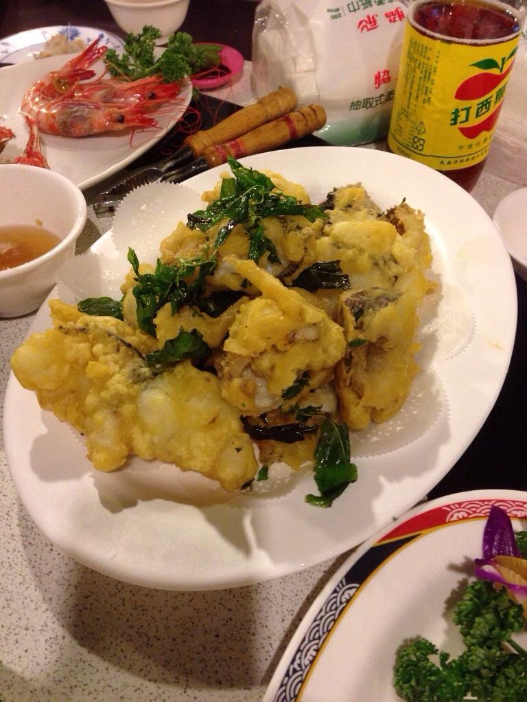 Deep fried Oar fish