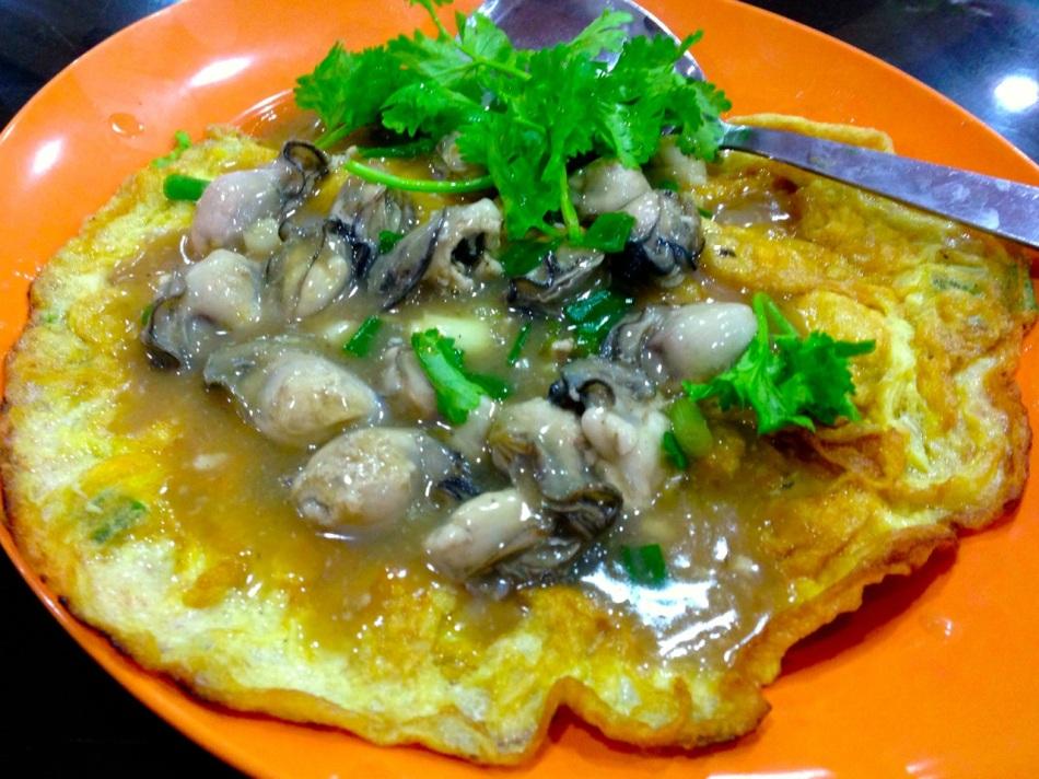 Oyster Omelette 蠔煎