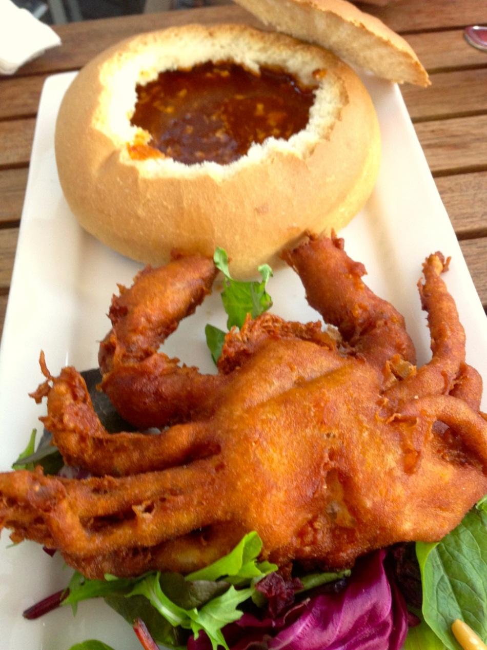 Soft Shell Chilli Crab