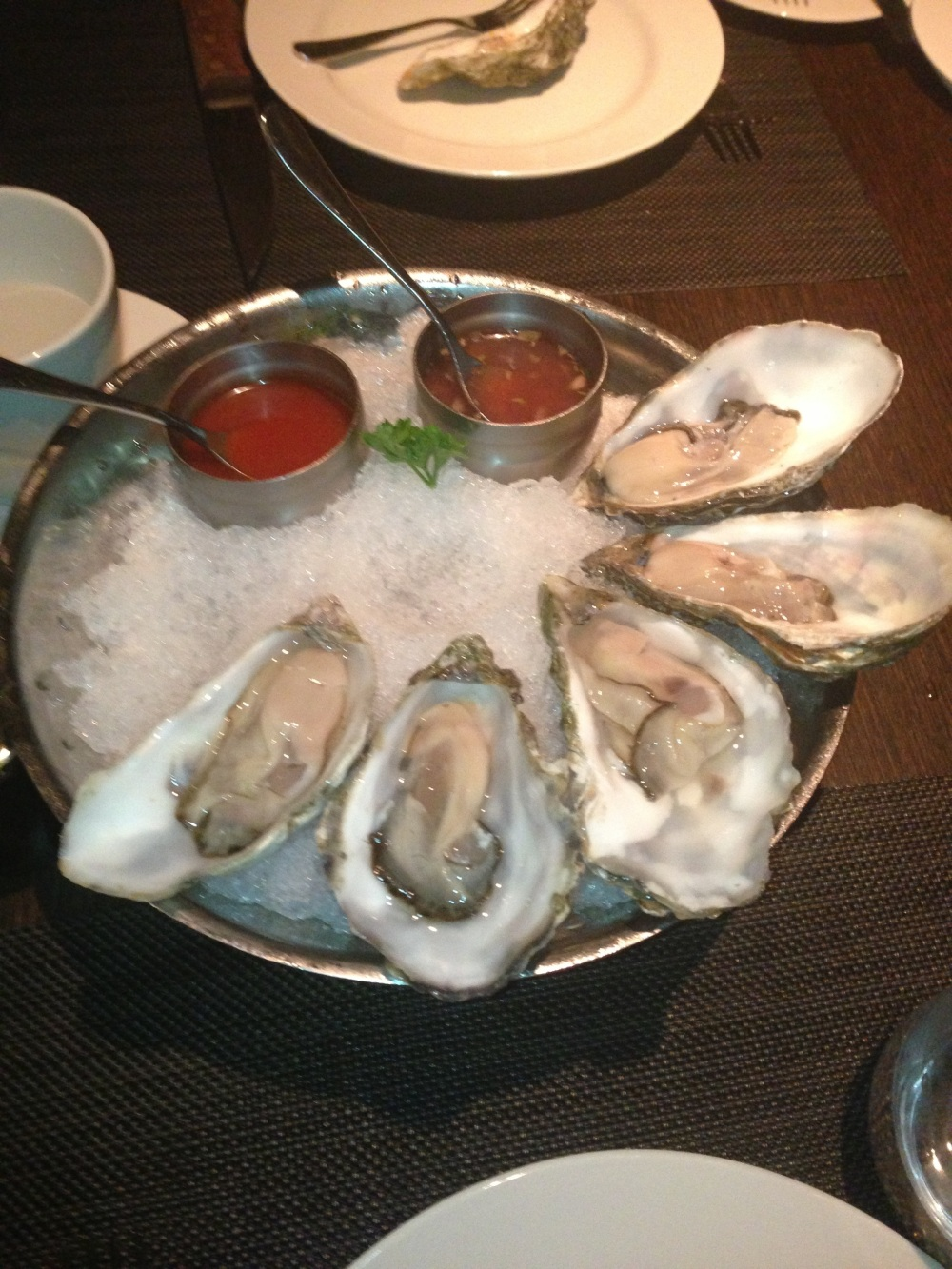 Fresh Shucked Oysters