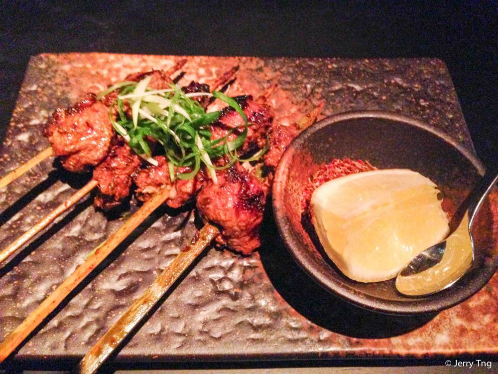 Indonesia style sate