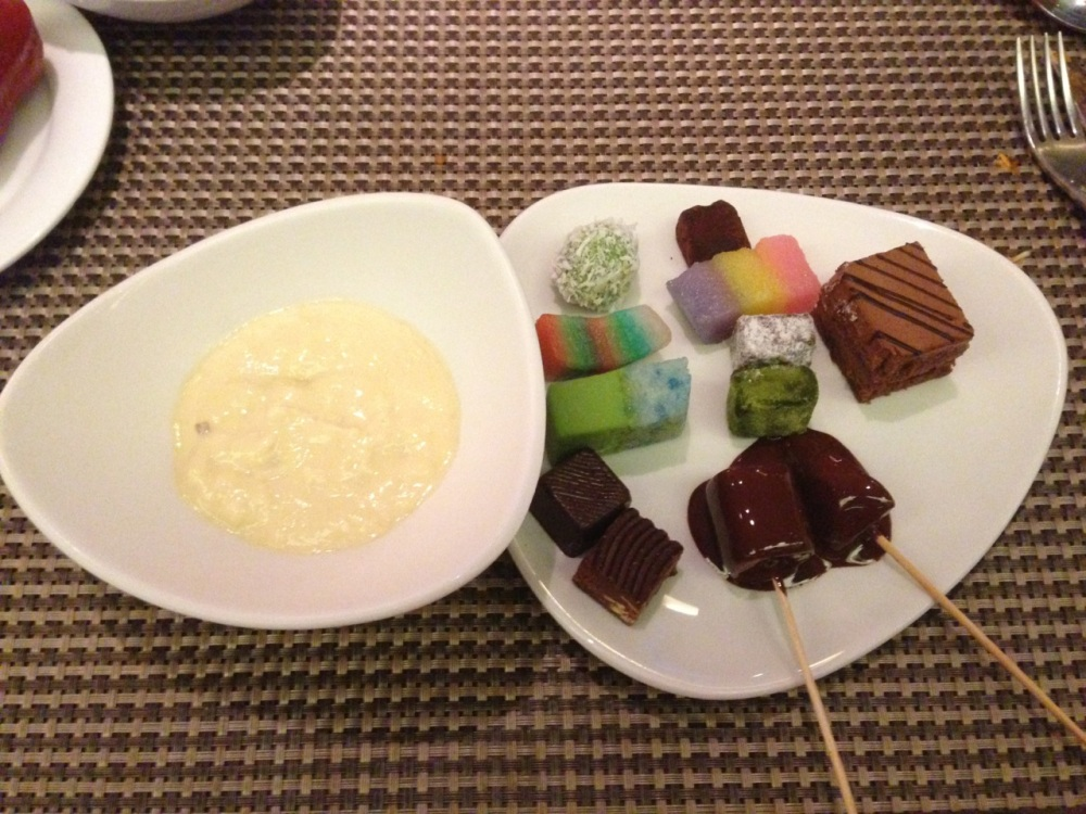 Durian Pengat and other sweets