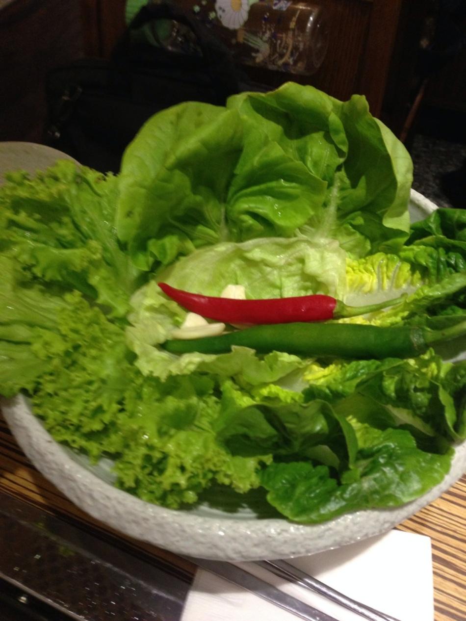 Side lettuce