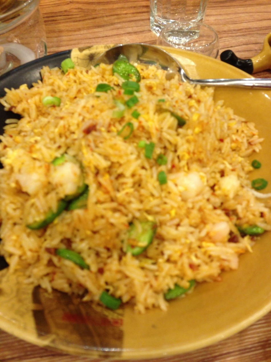Fried rice with petai (smelly beans)