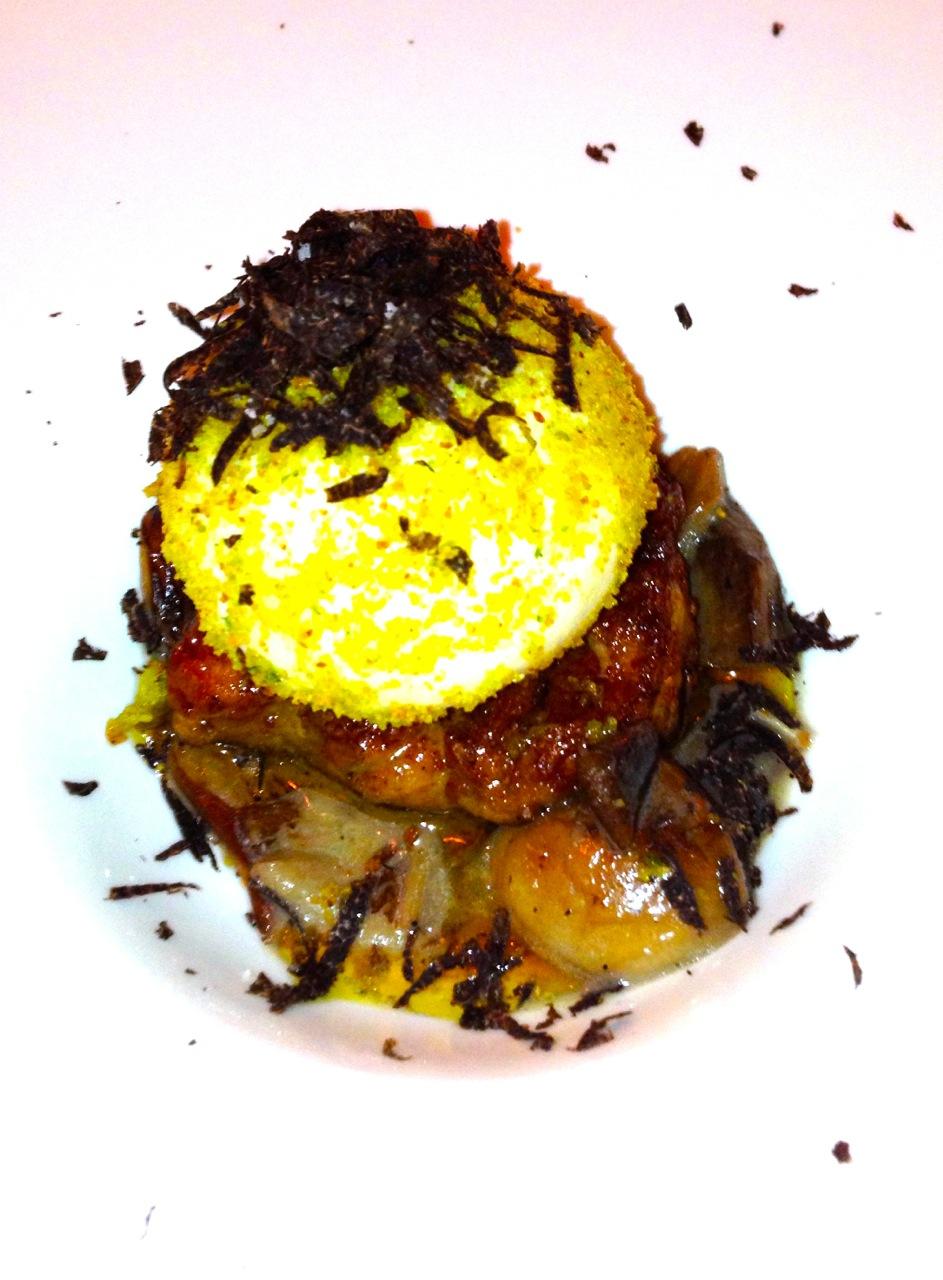 Uovo Fritto con Foie Gras