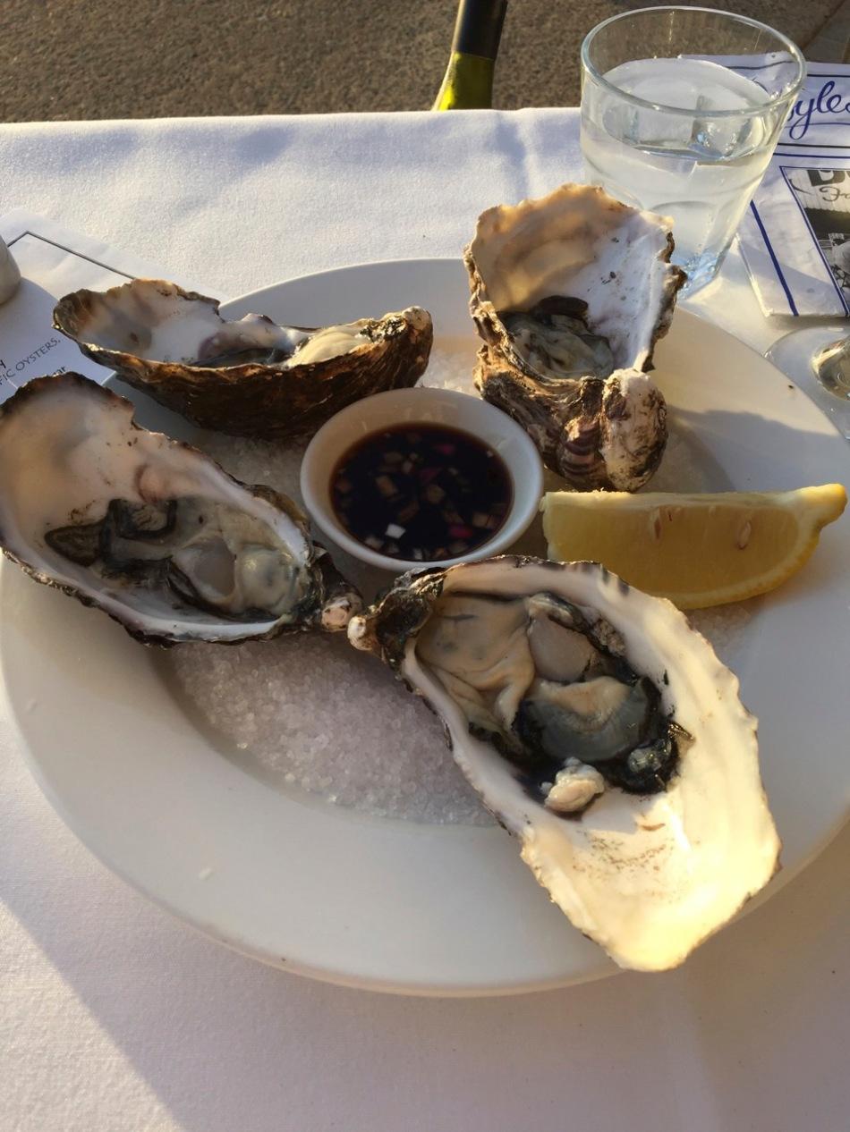 Bateau Bay oysters
