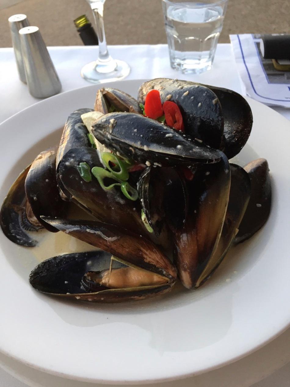 Tasmanian green mussels