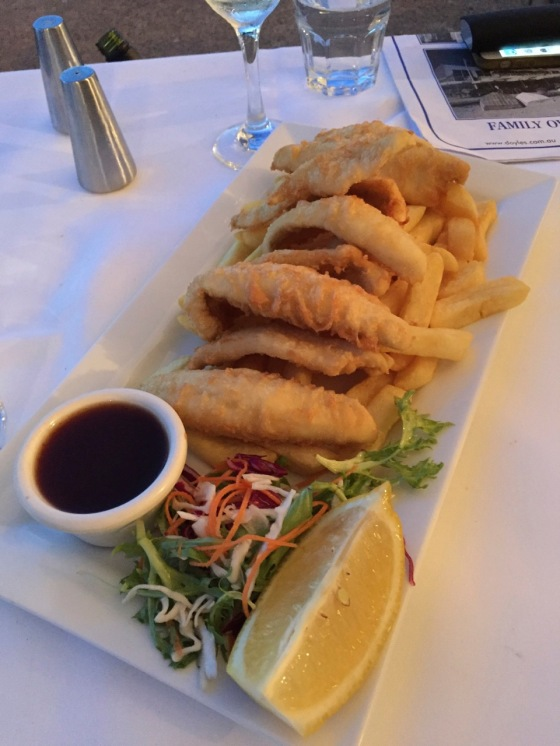 Whitefish Fish and Chips