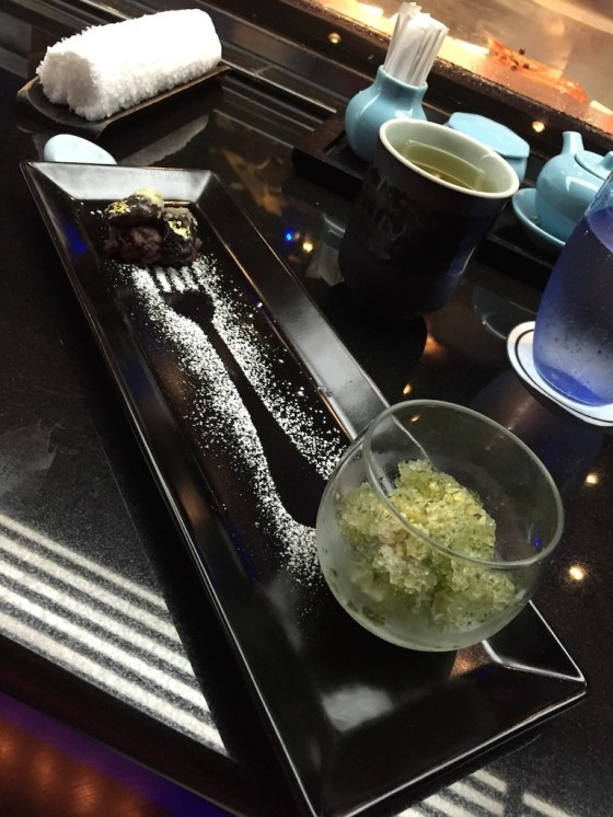 """Japanese Bean """"Hana mame"""" with Red Bean Shiso leaf Sherbet, Popping Candy (Winter Set)"""