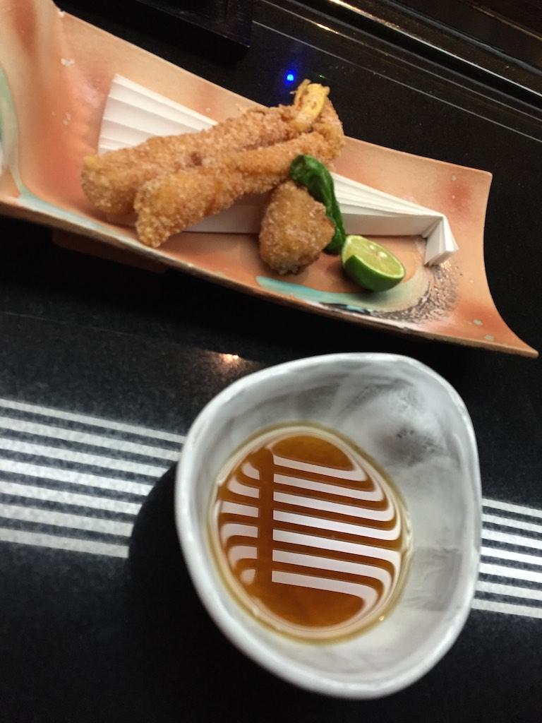 "Crispy Snow Crab ""Okakiko Age"" and ""Koshin Dikon"" from Kyoto with Soya Dip (Winter Set)"