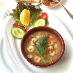 Shrimp Stew (served cold)