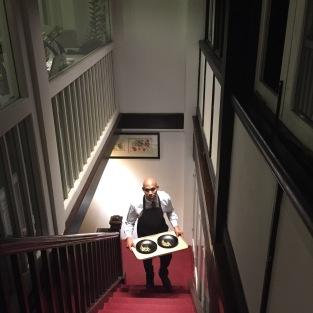 Colonial stairways