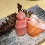 otoro and salmon belly