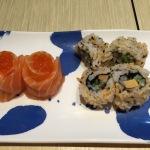 salmon and roe, cod liver maki