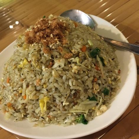 茶叶炒饭 Tea Fried Rice