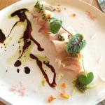 Hiramasa kingfish carpaccio