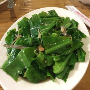 丁香山苏 Bird Nest Fern Shoot with Anchovies
