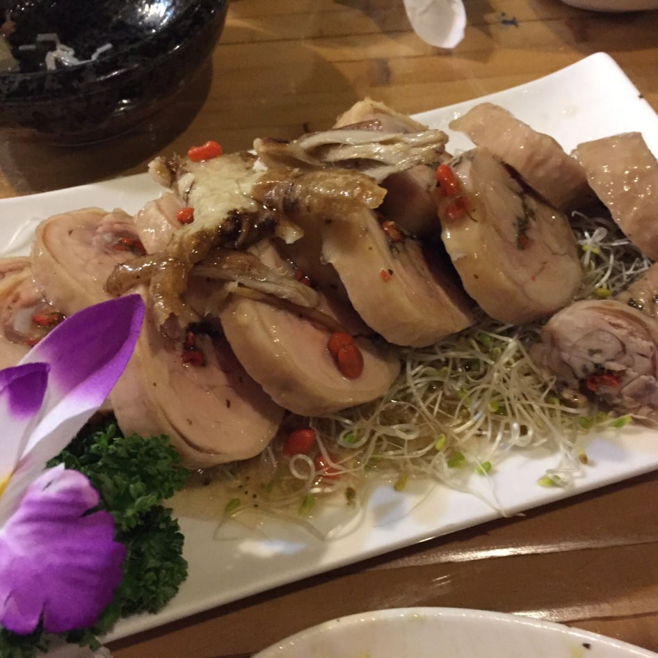 乌铁醉鸡 Tea Infused Drunken Chicken