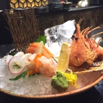 Sashimi – botanebi, salmon, flounder