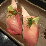 Lime infused yellowtail