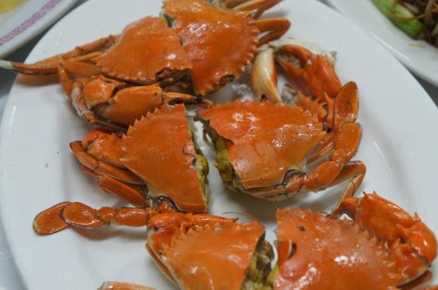 Cold Steamed Virgin Crabs 潮州凍醃仔蟹
