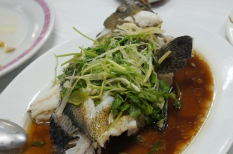 Steamed Soon Hock Fish 廣東蒸筍殼魚