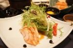 Flamed Salmon Salad