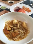 Laksa with lobster