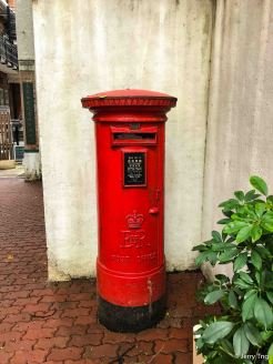 Royal Mail in old Hong Kong