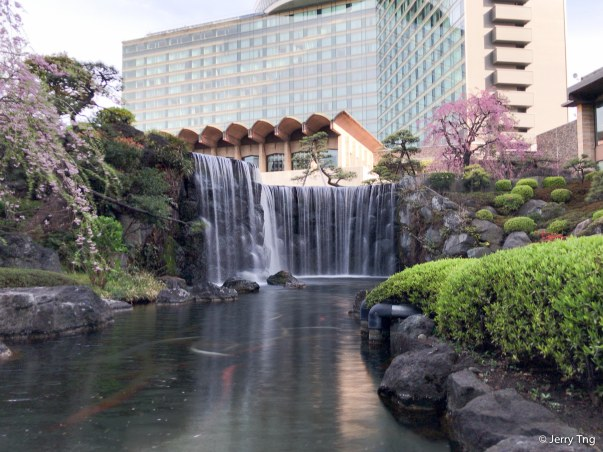 Japanese Garden at Hotel New Otani