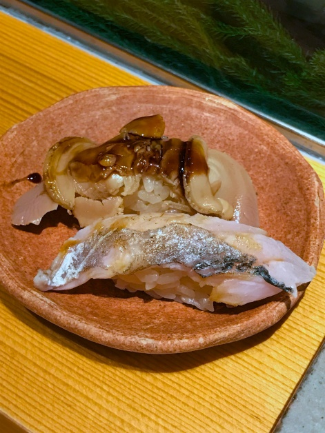 Snapper and Geoduck Clam