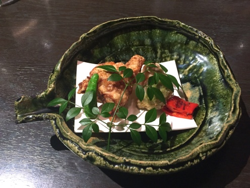 Deep fried fugu