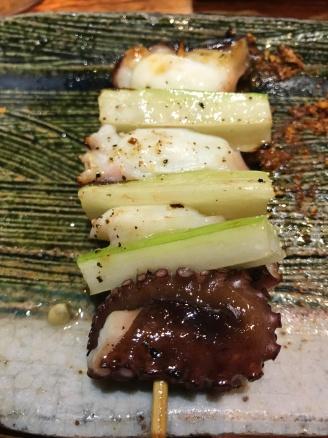 たこセロリ (Octopus with Celery)