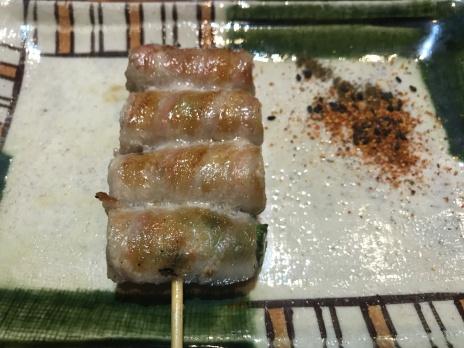 アスパラ巻 (Asparagus roll)