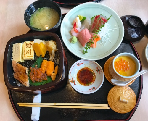 Lunch Sashimi set