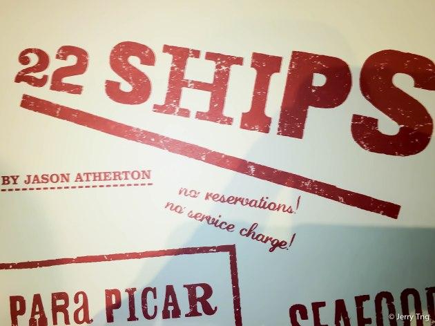 22 Ships Menu