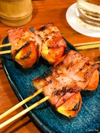 Bacon-wrapped Tomato
