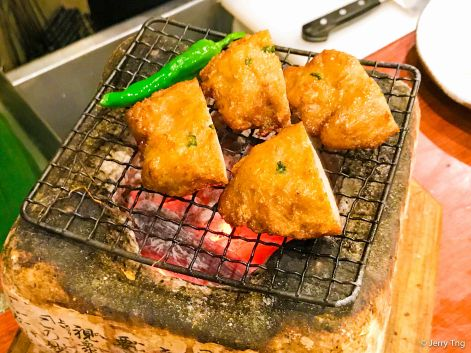 Grilled fish cake