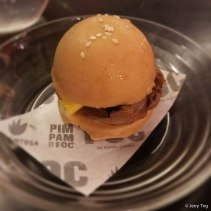 FOC Mini Chocolate Burger