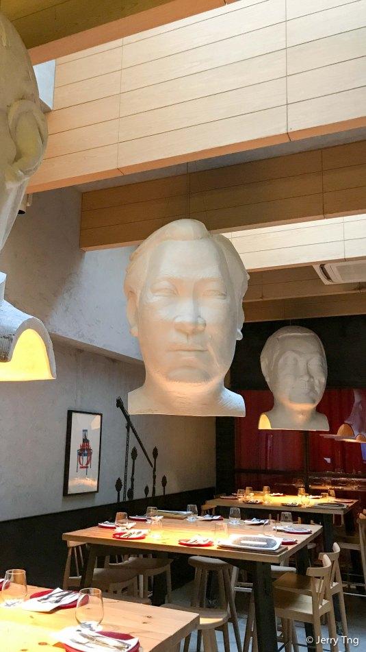 Interesting artwork/lampshades