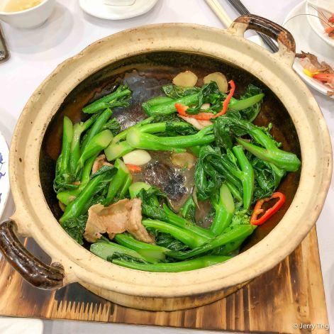 香港芥兰渚渚煲