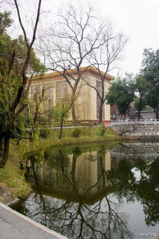 Lake around Main Building